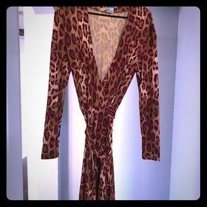 Iconic Diane VonFustenberg wrap dress